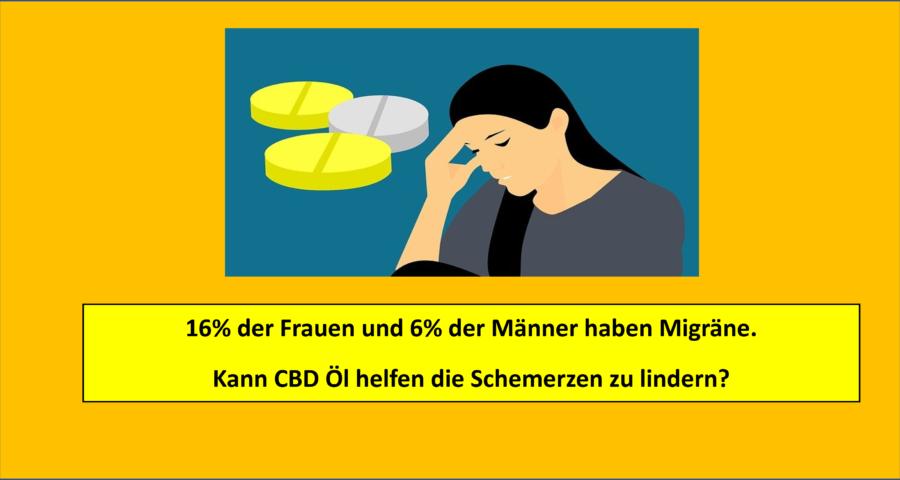 Migräne Anteil Bevölkerung - CBD Öl - Erfahrungsbericht